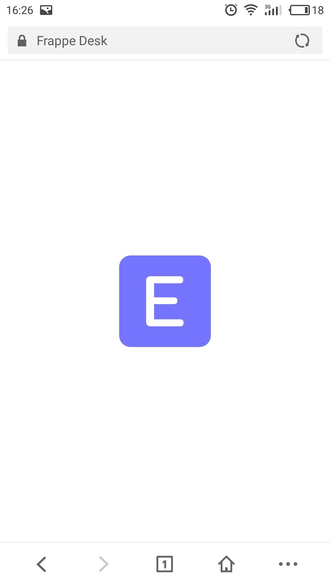 Desktop not loading in Android app and mobile browser - ERPNext