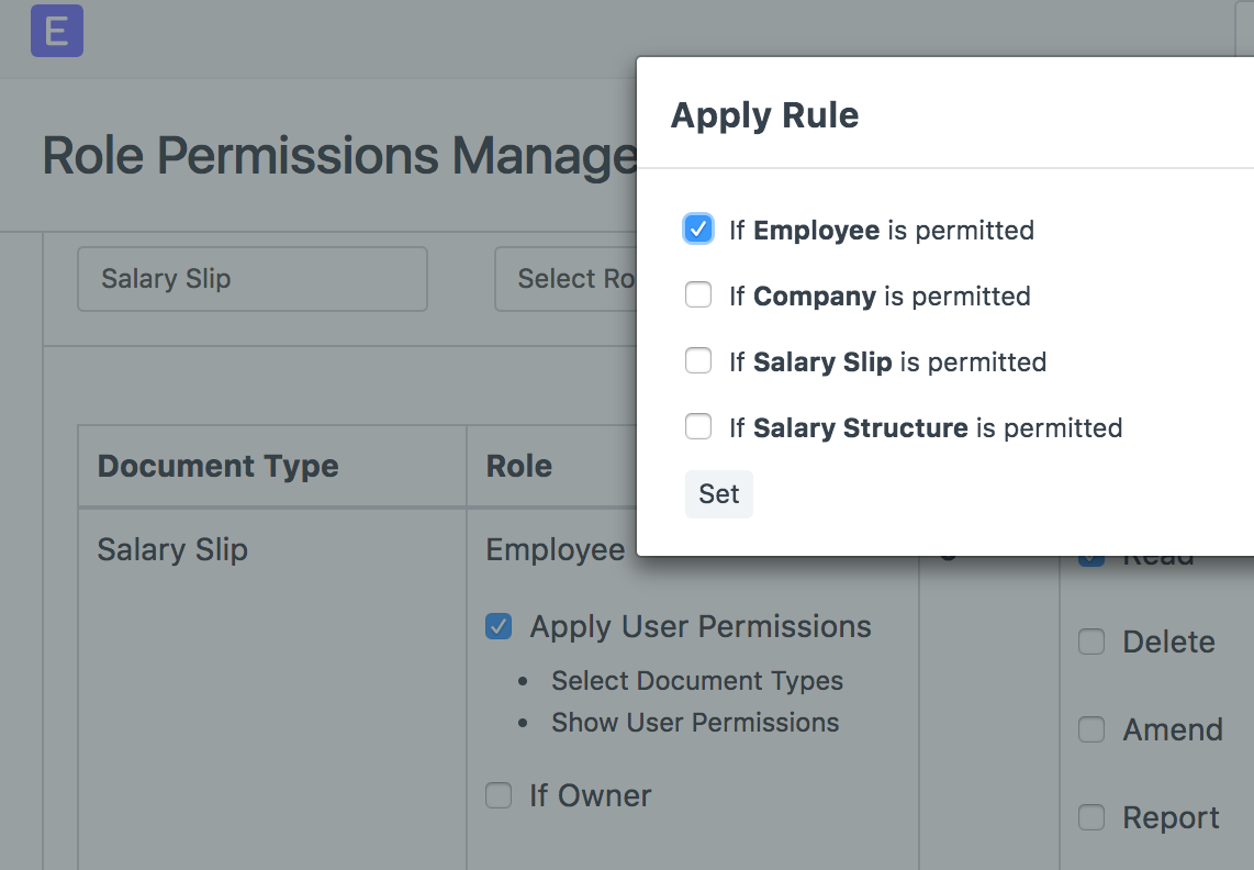 Salary Slip is Showing to other employees - HR - Discuss Frappe/ERPNext