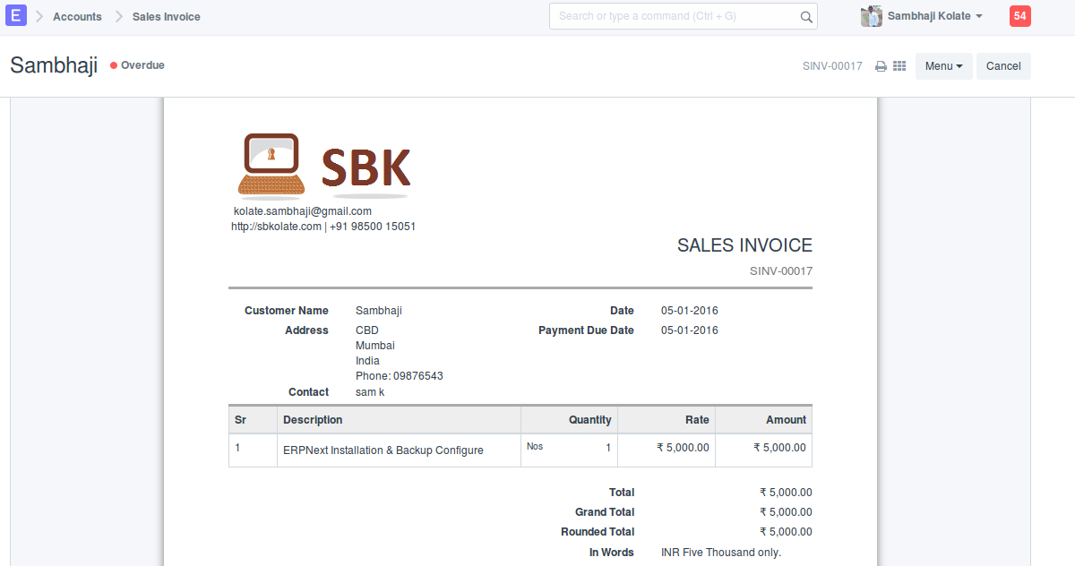 Erp.png1200x632 52.9 KB  Invoice For Services