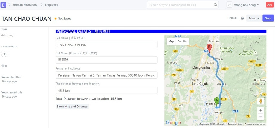 Google Maps With Location Distance Integration Tutorial Feature - Use google maps to track running distance