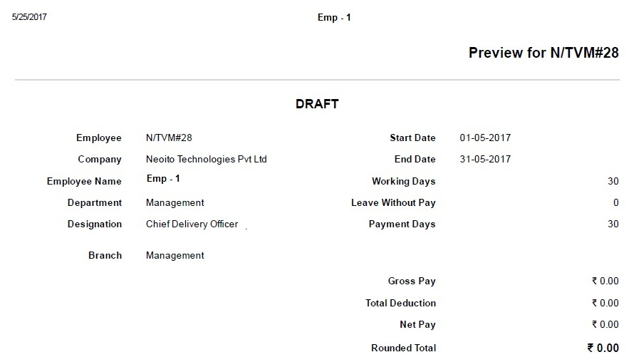 Not getting Correct values in Salary Slip - HR - Discuss Frappe/ERPNext