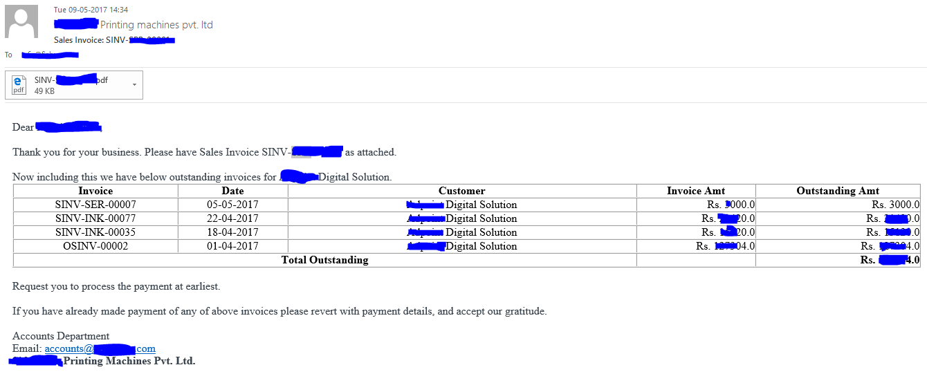 Rental Security Deposit Receipt Help Needed For Setting Up Email Alert For Payment Reminder  Invoice Templates For Word with Receipt Printer Word Pasted Imagex  Kb How To Invoice For Freelance Work Word