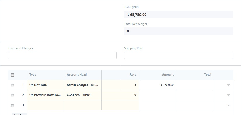 Error during Invoice Create - Accounting - Discuss Frappe